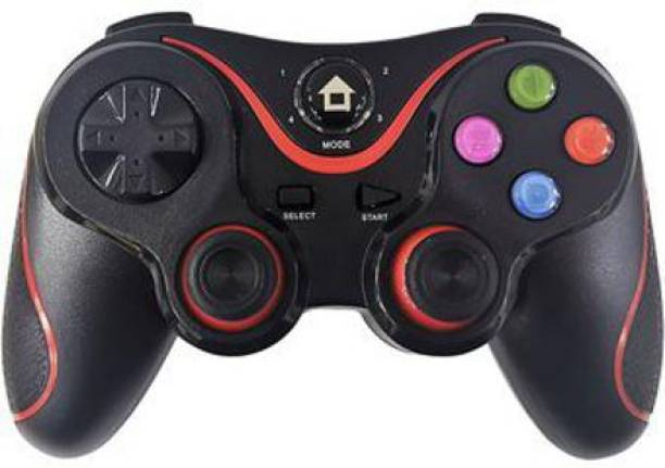 Clubics Wireless Gaming V8 controller Compatible with IOS, Android, PC,PS3,TV (BLACK)  Motion Controller