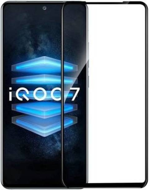 DSCASE Edge To Edge Tempered Glass for iQOO 7