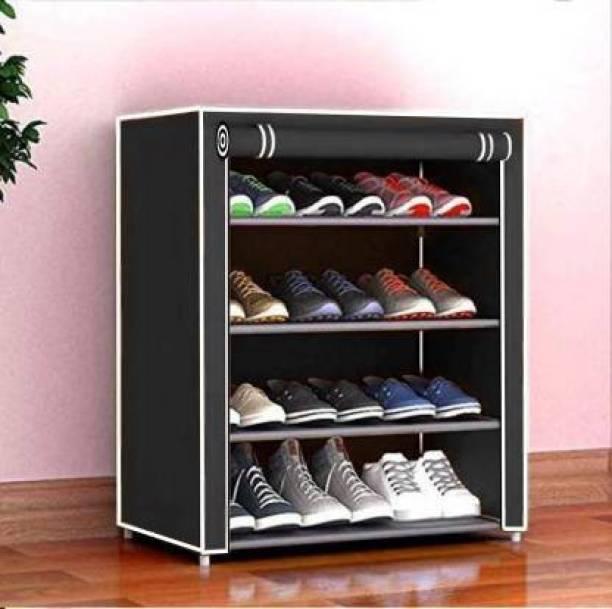 KOnlineShop footwear stand with door & shoe stand Metal Shoe Stand