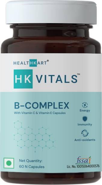 HEALTHKART B Complex (with Vitamin C & Vitamin E)