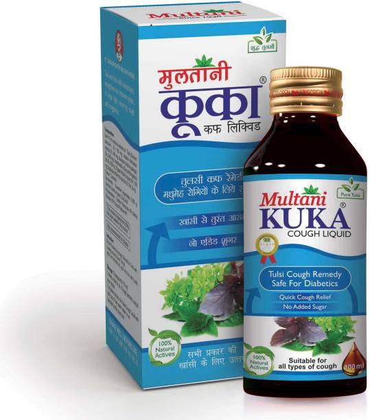 Multani Kuka Cough Liquid Sugar Free   Ayurvedic Syrup Drink