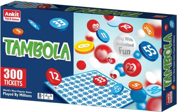 Ankit Toys Kids Tambola Board Game Board Game 13.5 X 13.5 Inch - Multicolor Party & Fun Games Board Game