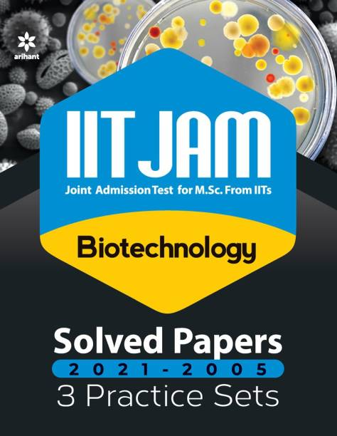 Iit Jam Biotechnology Solved Papers and Practice Sets 2022