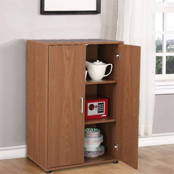 LKBS ART Engineered Wood Free Standing Cabinet
