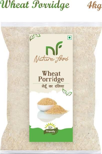 Nature food Good Quality Wheat Porridge /Gehun Daliya - 4KG Pack