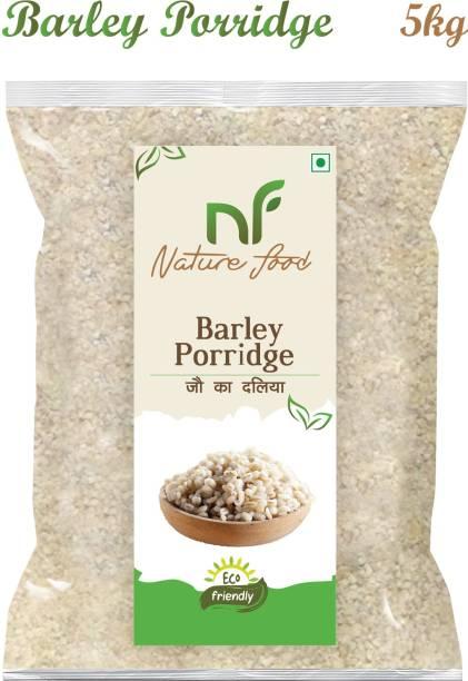 Nature food Good Quality Barley Porridge / Jau Daliya - 5KG Pack