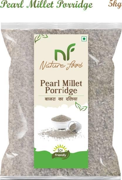 Nature food Good Quality Pearl Millet Porridge / Bajra Daliya - 5KG
