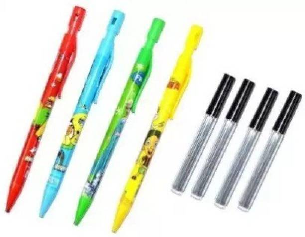 CRAZYGOL Cartoon Round Shaped Color Pencils