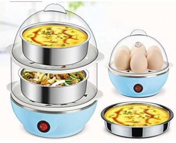 Golden Bucket Double Layer Electric Egg Boiler NY-EGG Egg Cooker(14 EGGS) EGG BOILER-1 Egg Cooker (multy color, 14 Eggs) Egg Cooker (14 Eggs) Egg Cooker