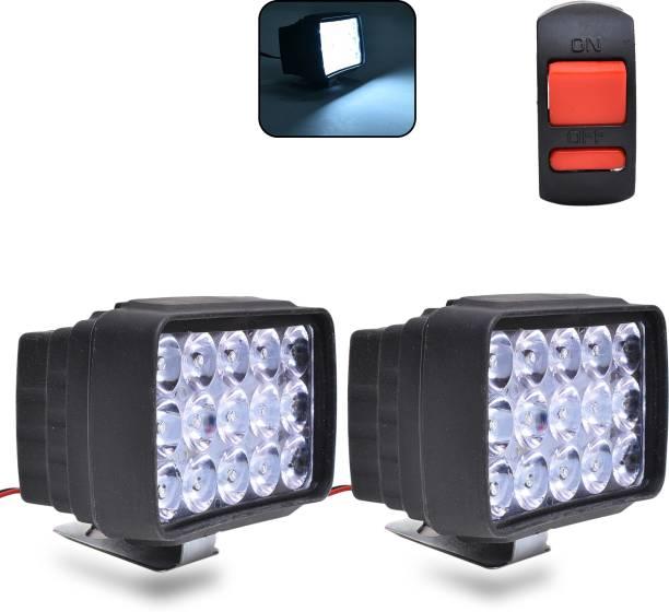 Autofledge LED Fog Lamp Unit for Bajaj, Datsun, Hero, Honda, KTM, Royal Enfield, TVS, Yamaha 3 Series, 4 Series, 5 Series, 6 Series