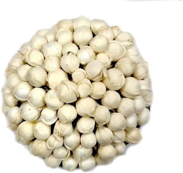 Foreign Holics Juda hair Bun Hair Gajra in Artificial Mogra Flower White Bun