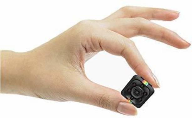 OJXTZF hidden Mini Portable Smallest spy Camera | 12MP Lens |Small Size | Night Vision | 1080p HD Video and Audio Recording | Portable Gadget | Hidden Camera Device - (Non WiFi)-mini spy cam Spy Camera