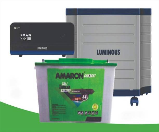 amaron EA150TT54+Zelio1100+Luminous Trolly Tubular Inverter Battery