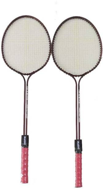 Majik Set of 2 Badminton Racket for Boys & Girls Badminton Kit