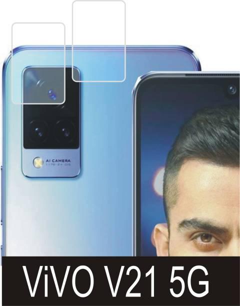 DESIBUZZ Back Camera Lens Glass Protector for Vivo V21 5G