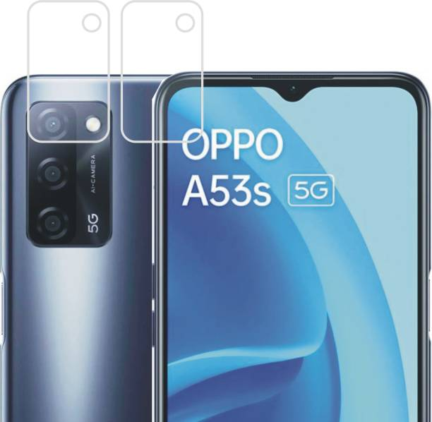 DESIBUZZ Back Camera Lens Glass Protector for OPPO A53s 5G