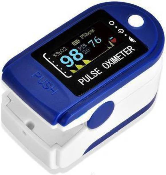 Dr. Oxiblue DR oxi fz16 Pulse Oximeter Digital LED Blue spo2 pulse oximeter fingertip Oxymeters For Oxygen Level oxygen meter finger oximeter plulse oximeterWith Battery Included (CE, FCC & ROHS Certified) Pulse Oximeter