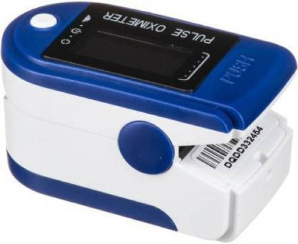 iSpares New Professional Series CMS-50D Finger Tip With Audio Visual Alarm With Perfusion Index Pulse Oximeter SPO2 Blood Oxygen Saturation Rotable OLED Oximeter Monitor. Pulse Oximeter (Blue, White) Pulse Oximeter