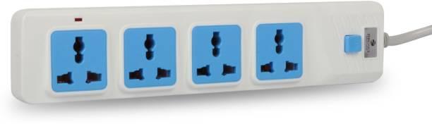 ZEBRONICS Zeb-PS4301 Universal 2500 Watts Power Extension 4 Socket(2.8Mtr) 4  Socket Extension Boards