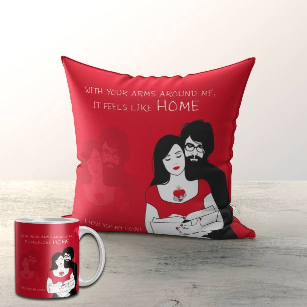 Fifth and Moon Cushion, Mug Gift Set
