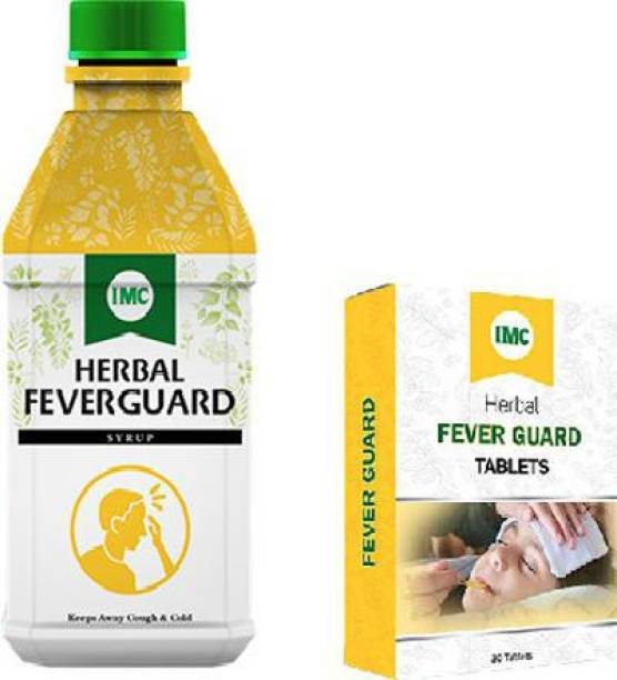 IMC HERBAL FEVER GUARD SYRUP & FEVER GUARD TABLETS COMBO