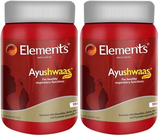 ELEMENTS WELLNESS AYUSHWAAS ( 2 PACKS)