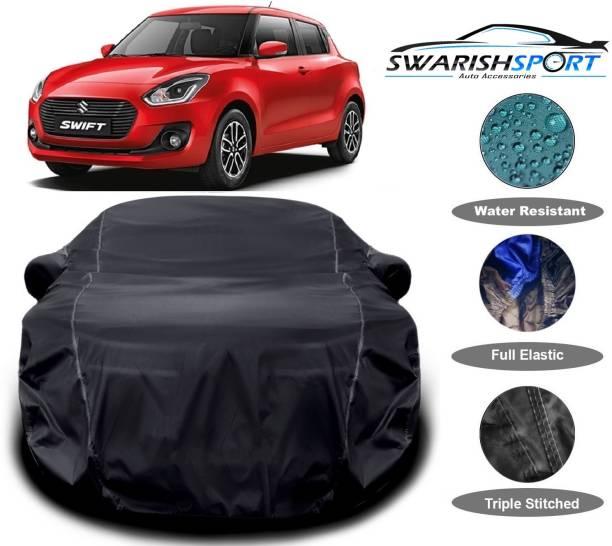 SWARISH Car Cover For Maruti Suzuki Swift (With Mirror Pockets)