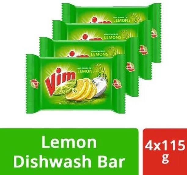 verma ji store Vim Lemons Dishwash Bar (4 X 115G) Dishwash Bar