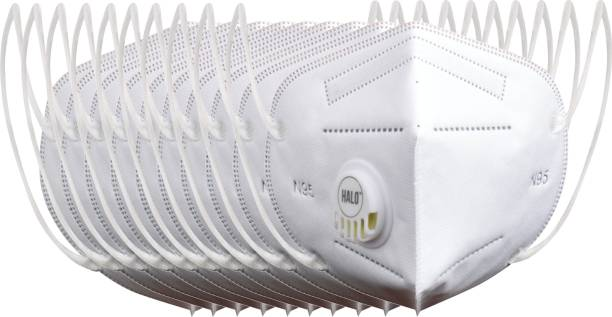 Halo N95 - 5 Layer Mask, Anti-Pollution With Breathing Valve (Pack of 10)