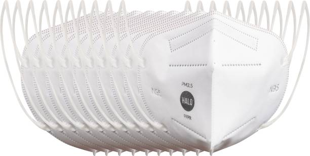 Halo N95 - 5 Layer Protective Mask Without Breathing Valve (Pack of 10)