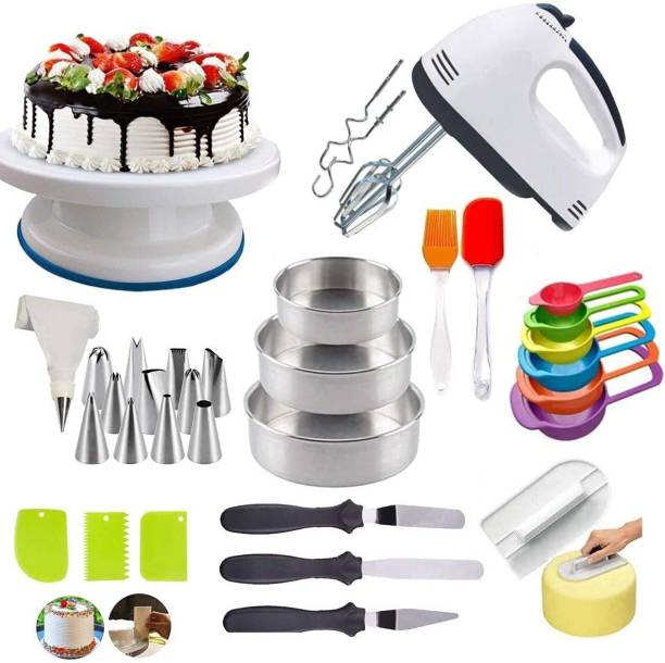 Vithani Cake All In One All in one cake combo Cake All In One Combo Multicolor Kitchen Tool Set (Multicolor) Kitchen Tool Set