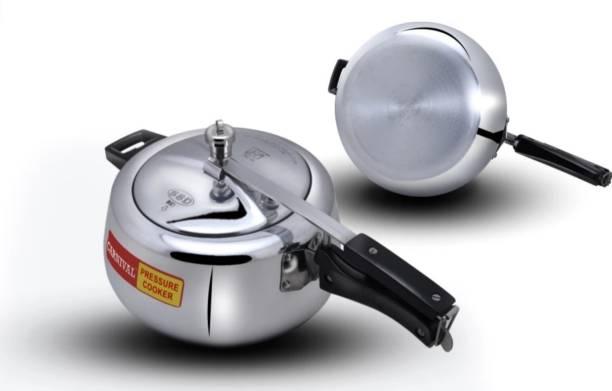 Carnival ALUMINIUM PRESSURE COOKER ELITE MODEL 1.5 LTR PURE VIRGIN ALUMINUM 1.5 L Pressure Cooker