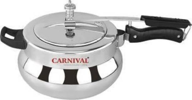 Carnival ALUMINIUM DESIRE HANDI MODEL PRESSURE COOKER 1.5 LTR PURE VIRGIN ALUMINIUM (INNER LID) 1.5 L Pressure Cooker