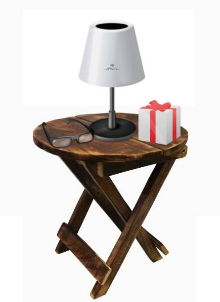 Smarts collection Folding Stool|Wooden Portable Stool|Coffee Table|Adjustable Flower Stand|Wooden Room Corner Decor Table Pure Handmade Portable Stool|Room Decor Convertible Wood Stool Bamboo Side Table