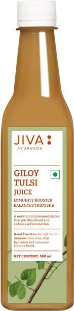 Jiva Giloy Tulsi Juice | Natural Immunity Booster Juice - 500 ml