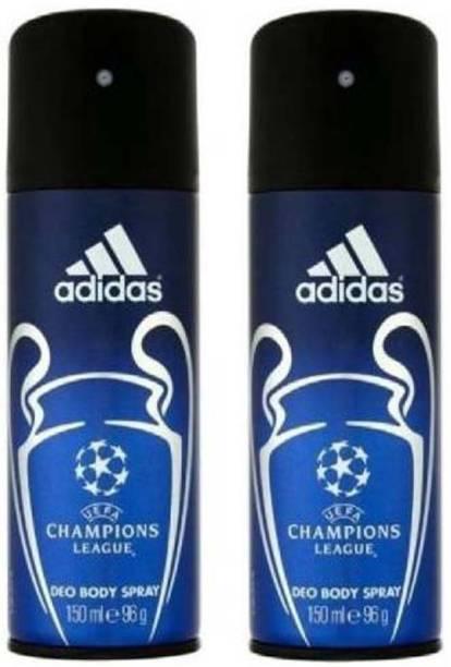 ADIDAS Champion League Combo.2 Deodorant Spray  -  For Men & Women