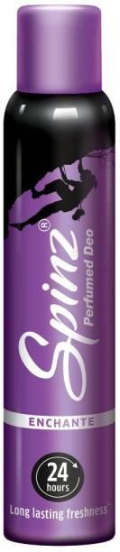 Spinz Enchante Deodorant Spray  -  For Women