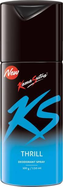 Kamasutra Thrill Deodorant Spray  -  For Men