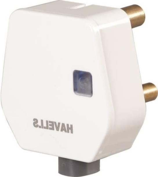 HAVELLS AHLGWXW163 AHLGWXW163 16A Plugtop with Indicator Three Pin Plug