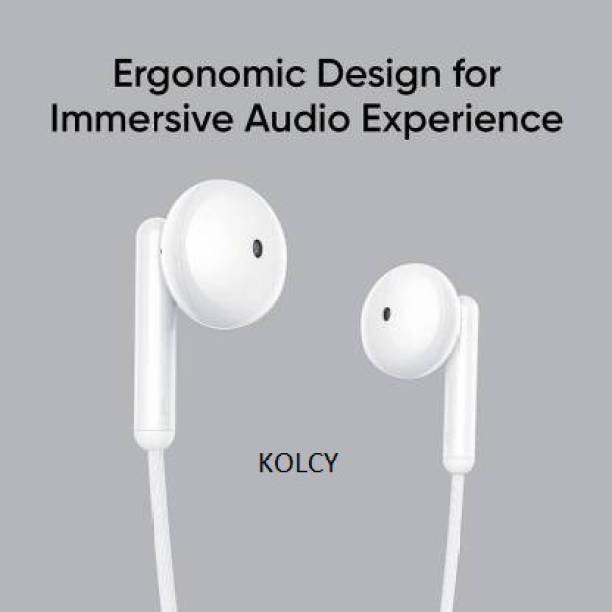 KOLCY Realme 2 buds wired Wired Headset