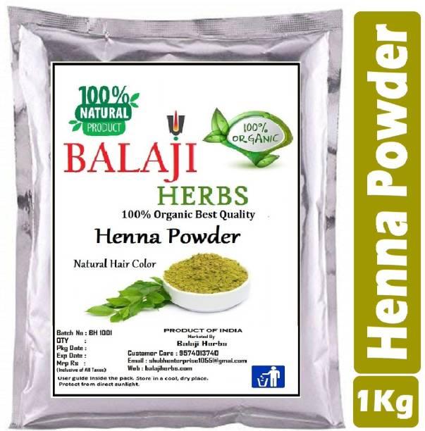 BALAJI HERBS Henna Powder 100% Pure And Natural Hair Colour XD4