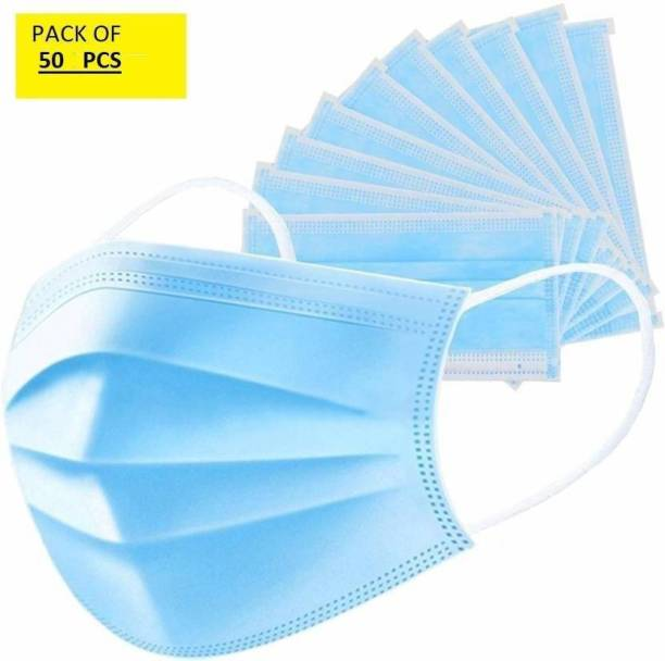 New Click Shop 50 pcs 3ply nt Surgical Mask