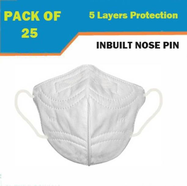 Maitri N-95 Unisex Reusable & Face Mask with 5 layers