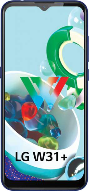 LG W31 Plus (Blue, 128 GB)