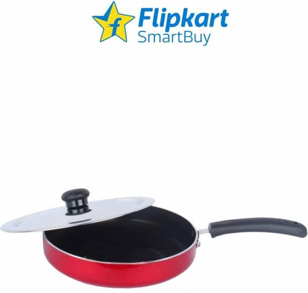 Flipkart SmartBuy NONSTICK STRIGHT FRY PAN WITH SS LID Fry Pan 23 cm diameter with Lid