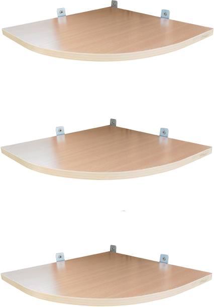 SOKHI FURNISHING Wooden Wall Shelf