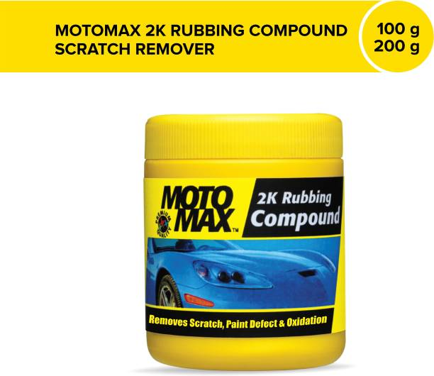 Pidilite Motomax Car & Bike 2K Rubbing Compound Scratch Remover Wax