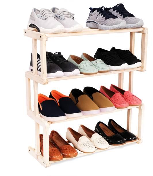 Ebee Solid Wood Shoe Stand