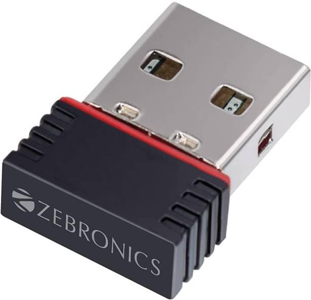 ZEBRONICS ZEB-USB150WF1 WiFi USB Mini Adapter USB Adapter