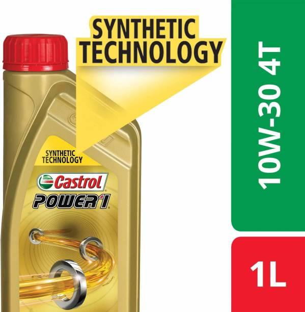 Castrol 10W30 API SL POWER1 4T Synthetic Blend Engine Oil